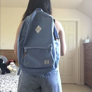 Herschel Supply Company Bags - Herschel Heritage Chambray Crosshatch  Backpack 21L 0fefb2057ea65